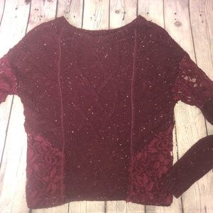 Hollister Lace Sweater